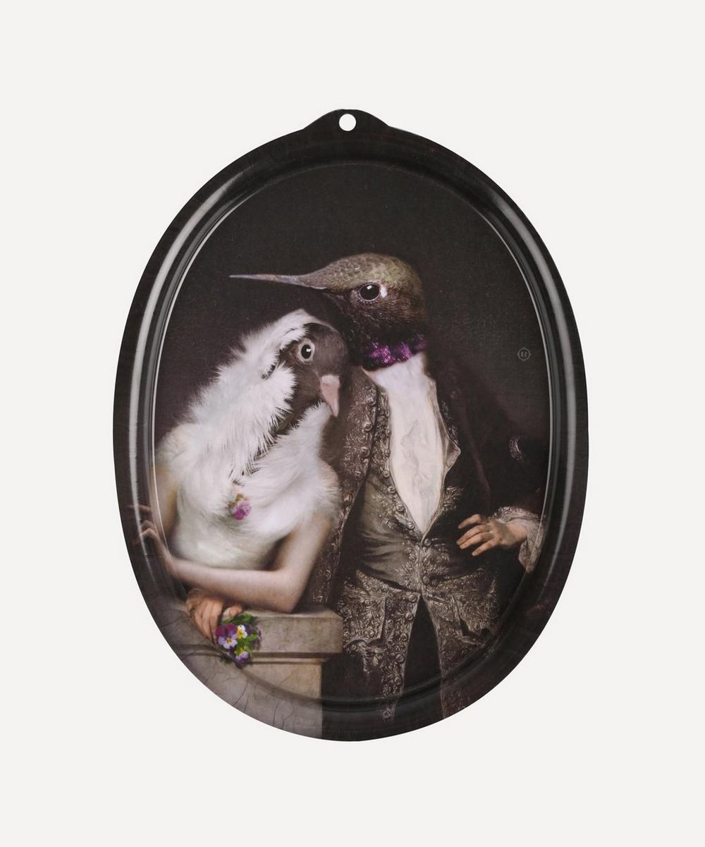 Ibride - Lovebirds Le Boudoir Decorative Tray