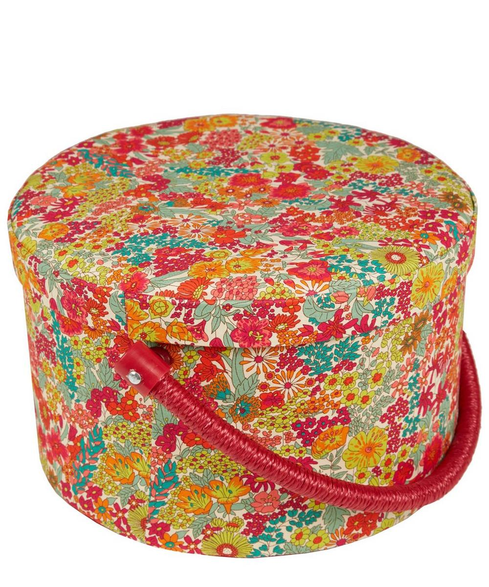 Liberty London -  Round Sewing Box