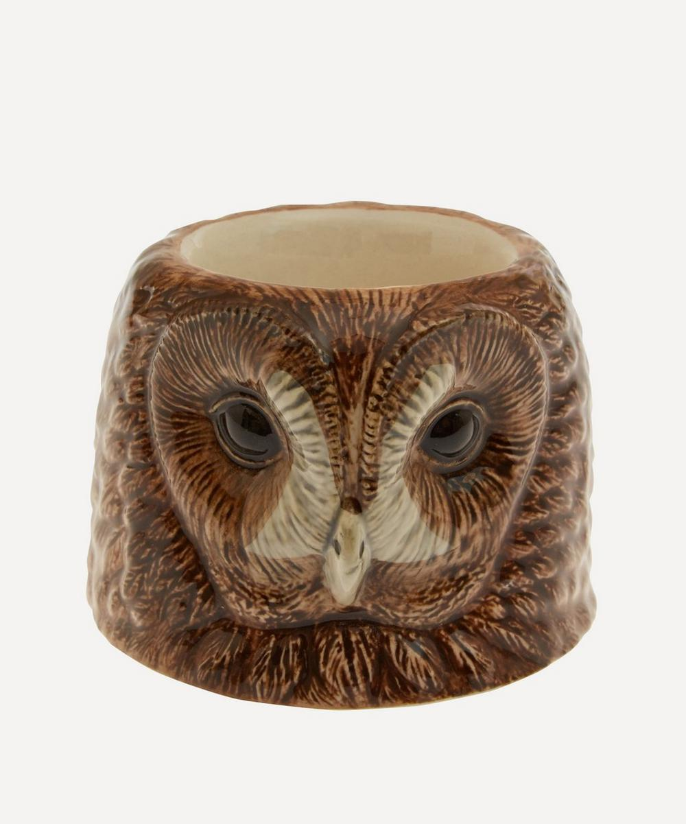 Quail - Tawny Owl Face Egg Cup