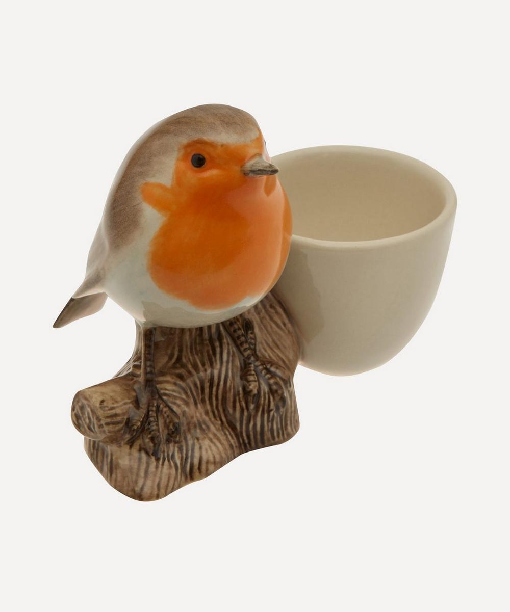 Quail - Perched Robin Egg Cup