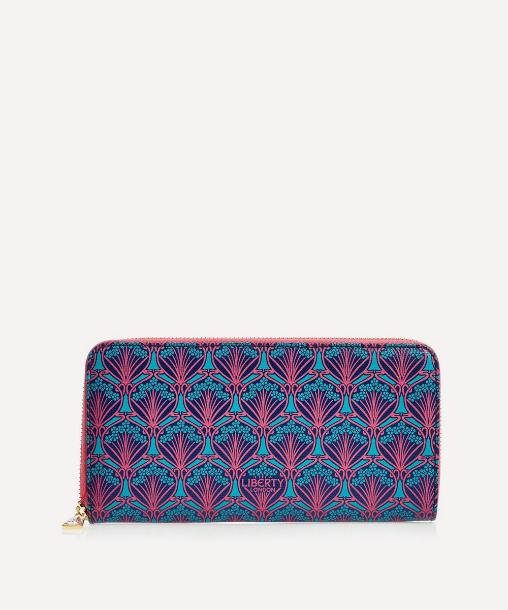 Liberty - Large Zip-Around Wallet in Iphis Canvas