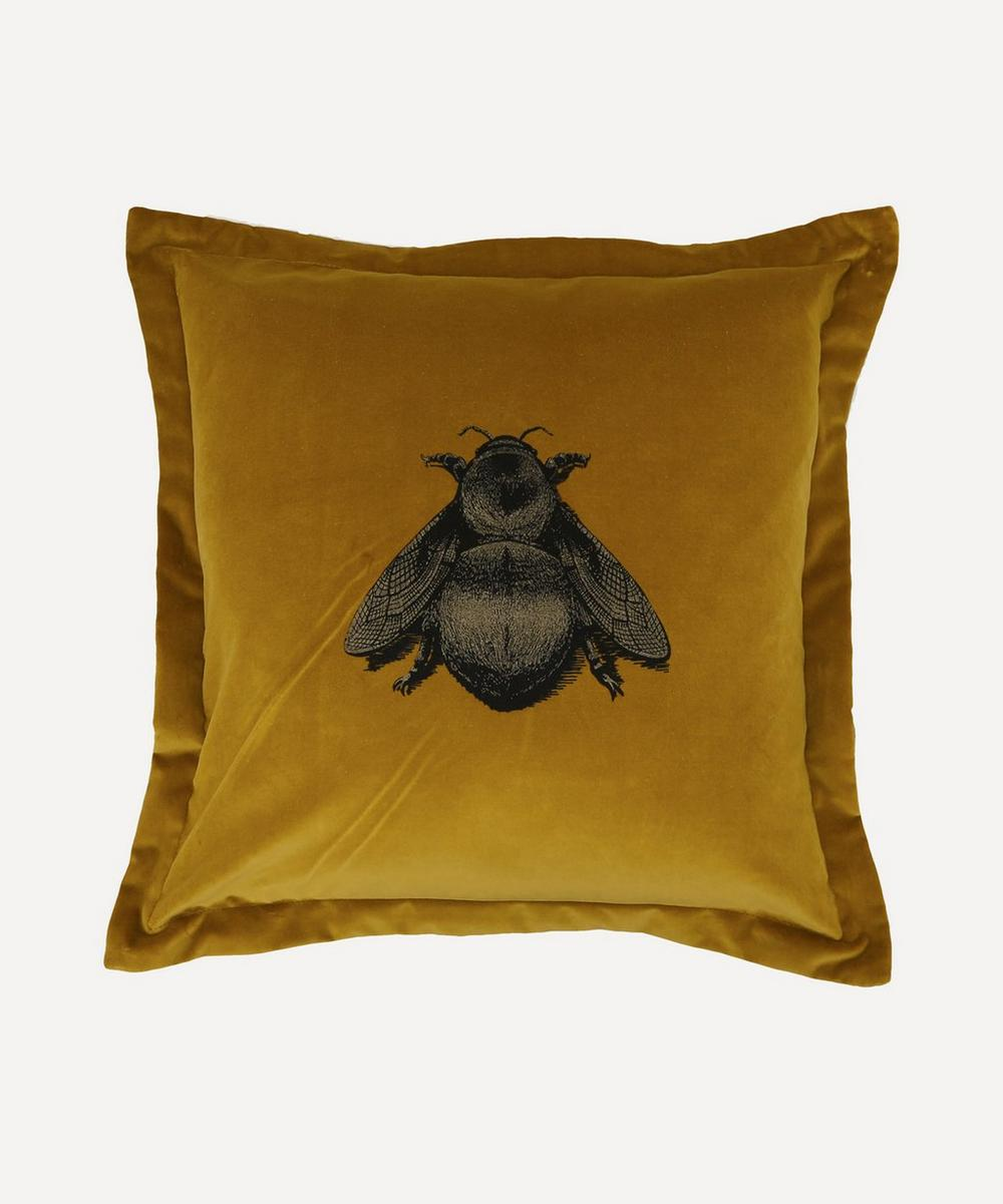 Timorous Beasties - Napoleon Bee Velvet Cushion