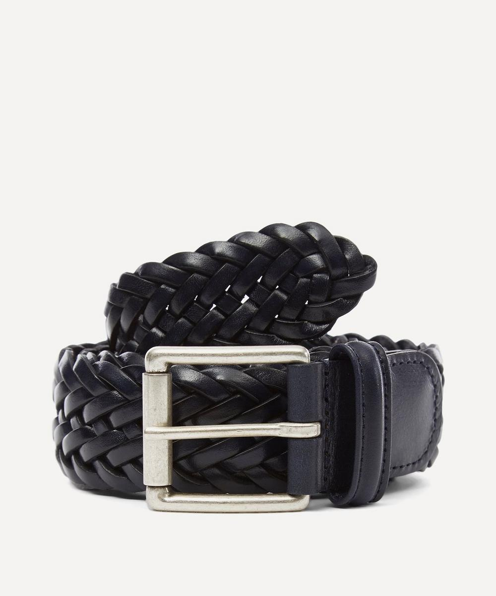 Anderson's - Woven Leather Belt