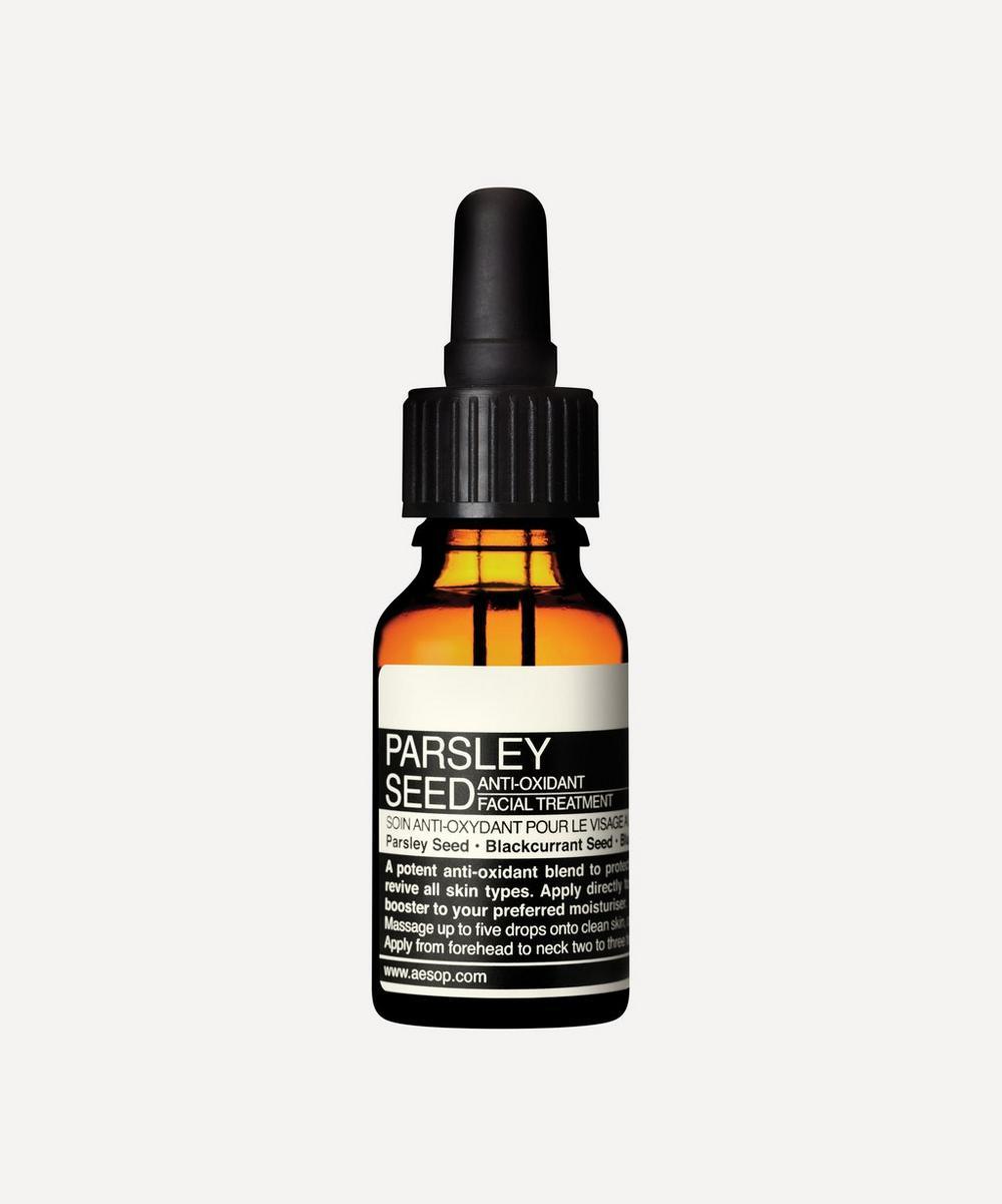 Aesop - Parsley Seed Anti-Oxidant Facial Treatment 15ml