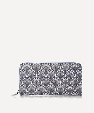 Iphis Canvas Large Zip-Around Wallet
