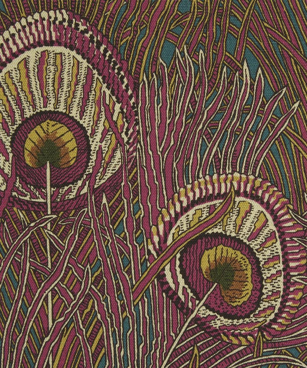 Liberty Fabrics Interiors - Hera Feather Linen Union in Anemone