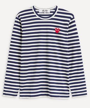 Striped Cotton Long Sleeve T-Shirt