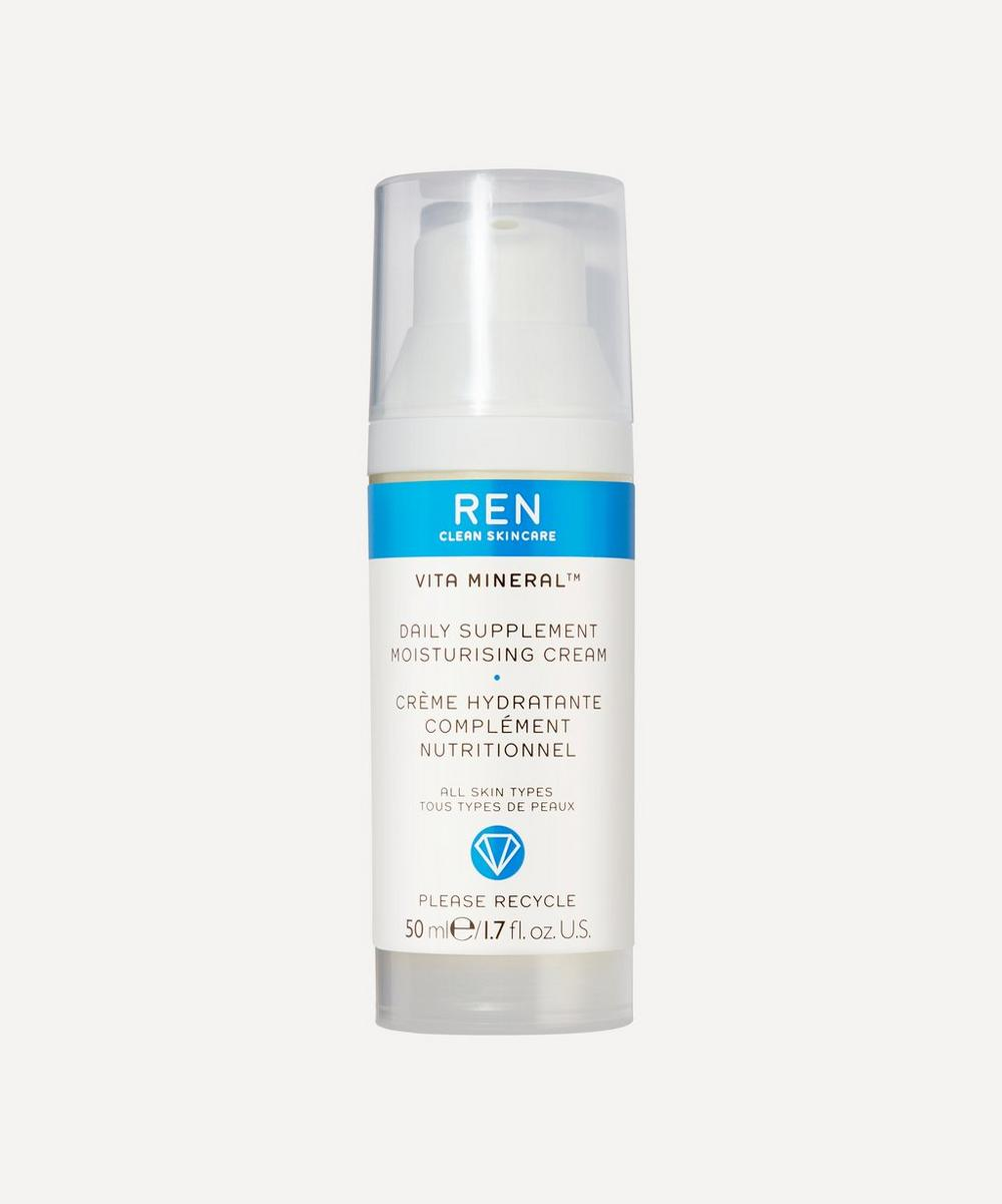 REN Clean Skincare - Vita Mineral Daily Supplement Moisturising Cream 50ml