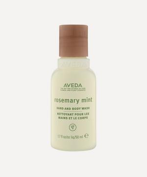Rosemary Mint Hand and Body Wash 50ml