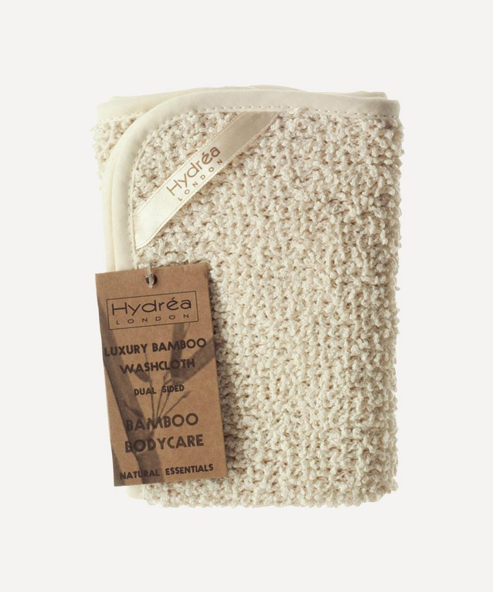 Hydréa London - Natural Bamboo Washcloth