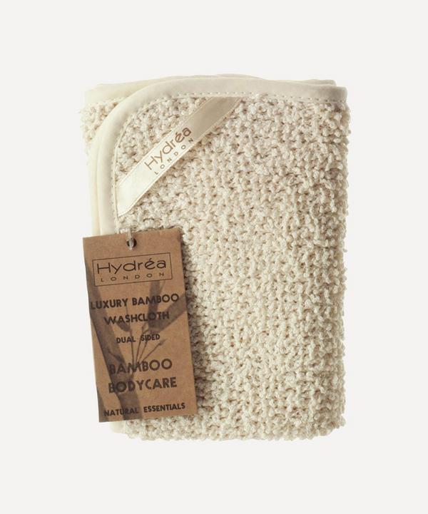 Hydréa London - Natural Bamboo Washcloth