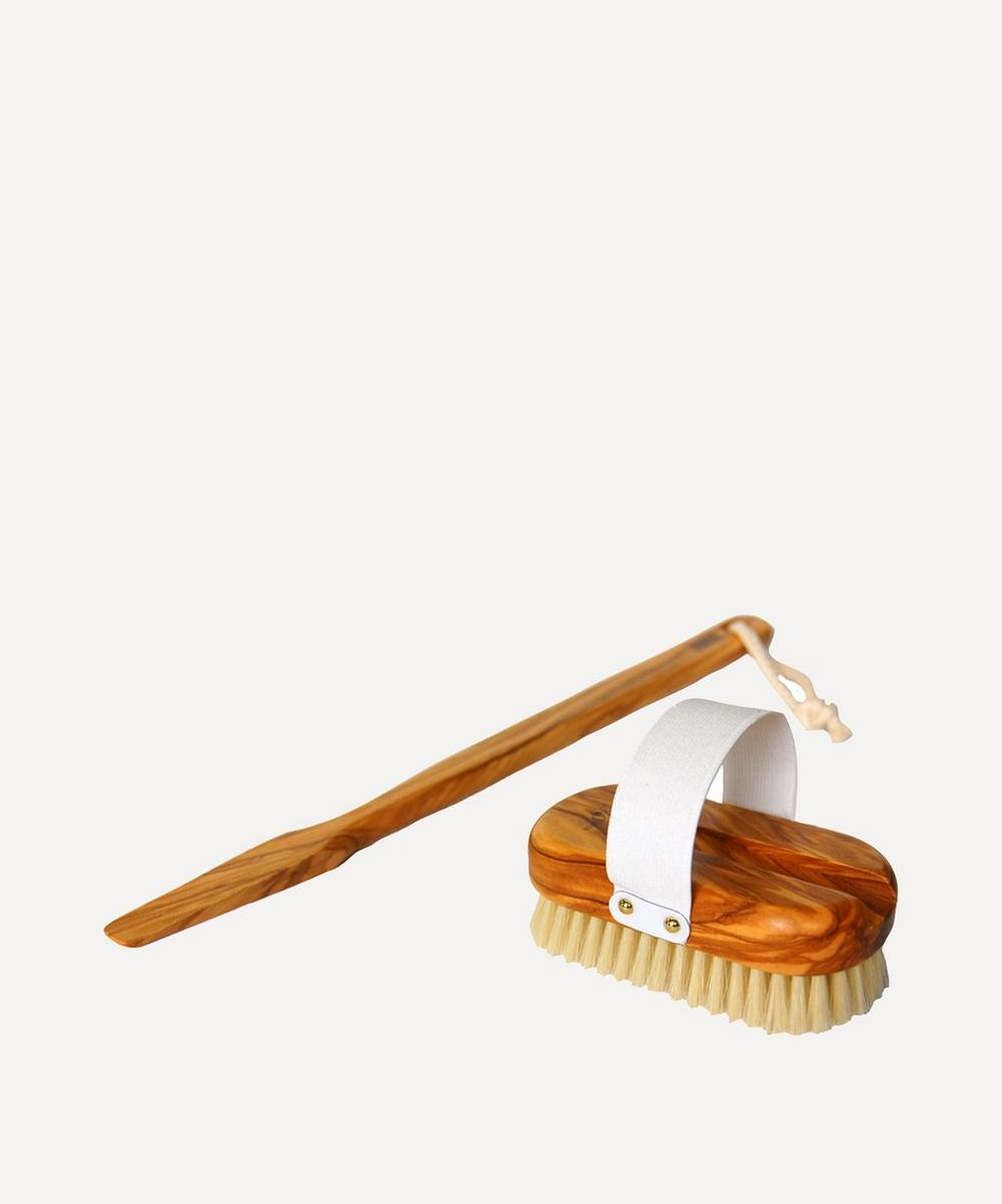Hydréa London - Olive Wood Body Brush