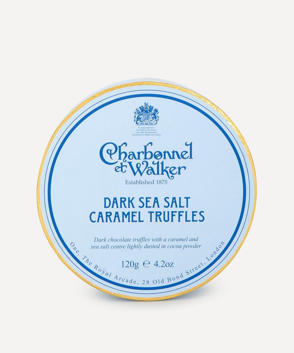 Charbonnel et Walker - Dark Sea Salt and Caramel Truffles 120g