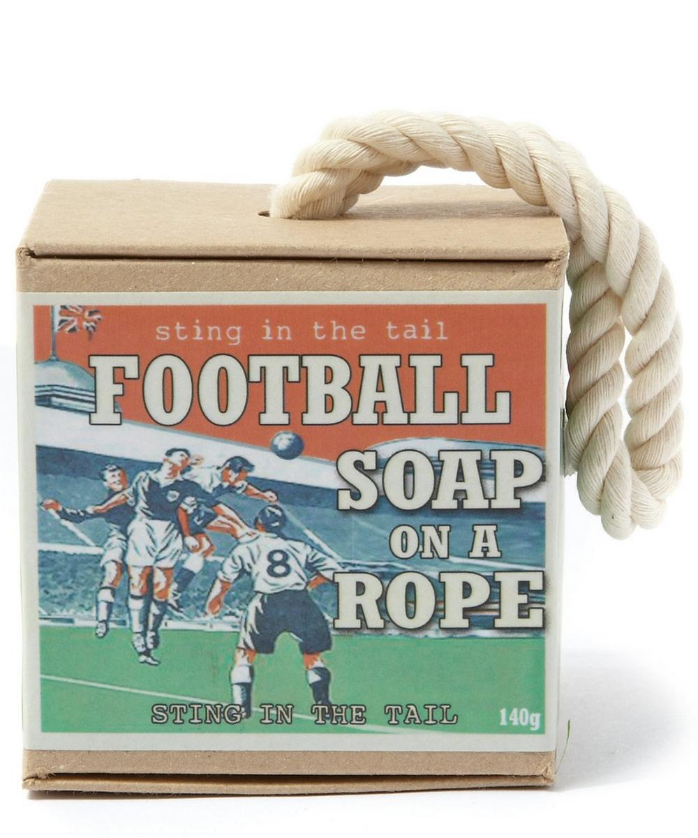Sting In The Tail - Football on a Rope Soap