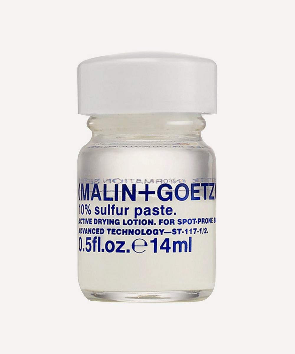 (MALIN+GOETZ) - 10% Sulfur Paste 14ml