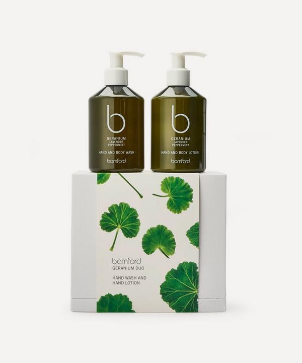 Bamford - Geranium Duo Gift Set 2 x 250ml