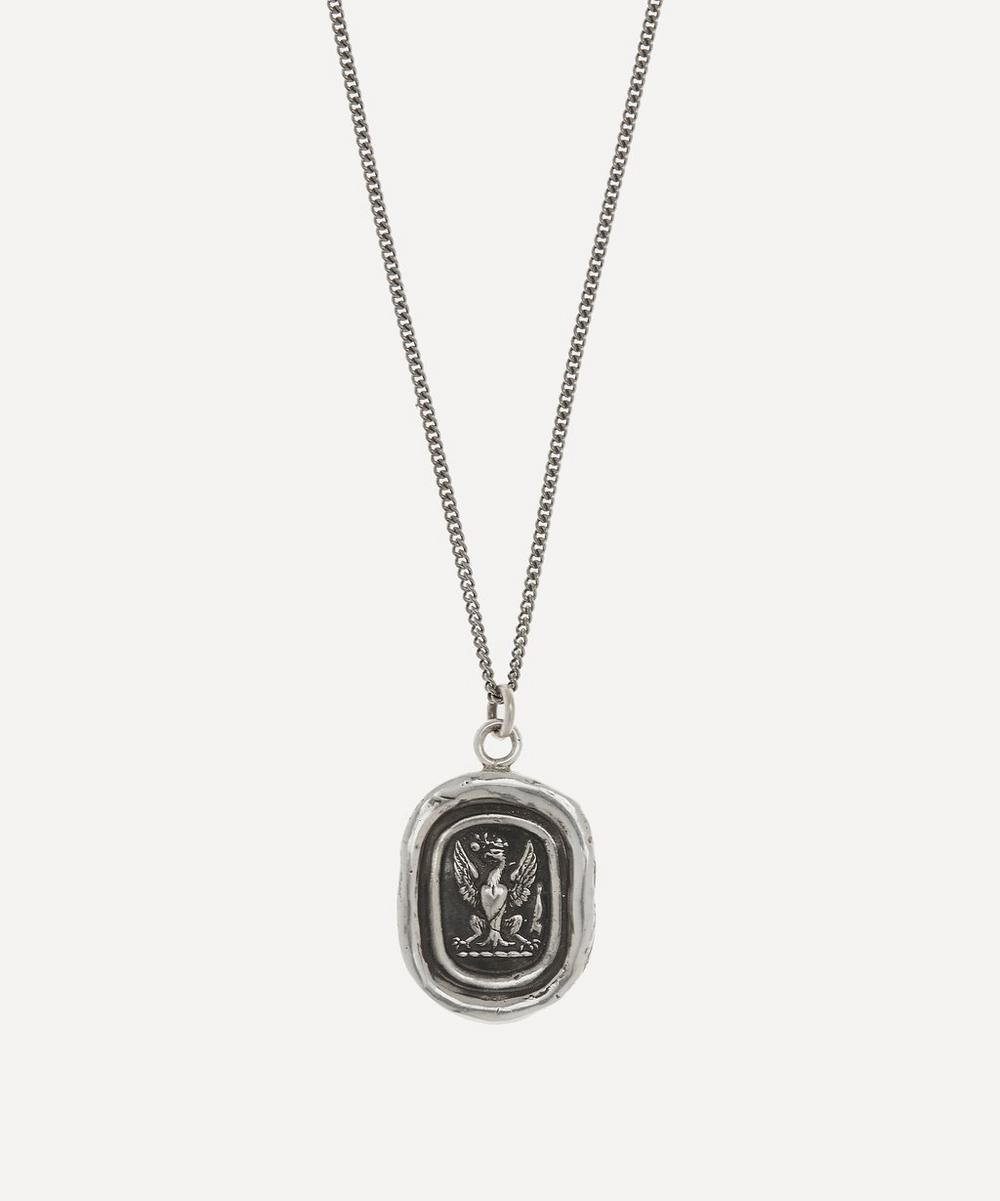 Pyrrha - Follow Your Dreams Sterling Silver Necklace