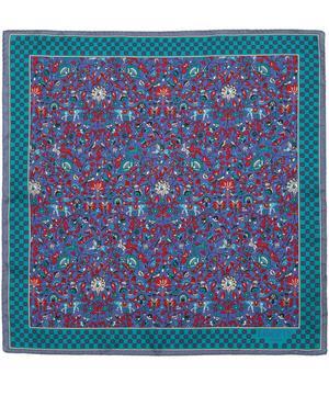 Liberty Print Imran Silk Pocket Square