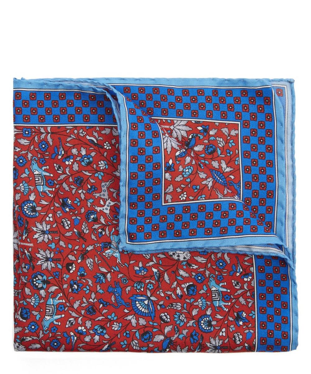 Liberty - Liberty Print Imran Silk Pocket Square