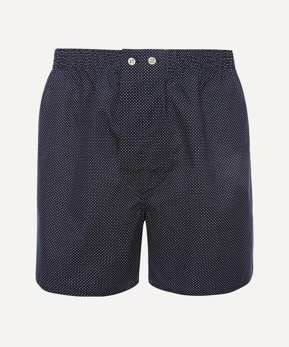 Derek Rose - Polka Dot Classic Cotton Boxer Shorts