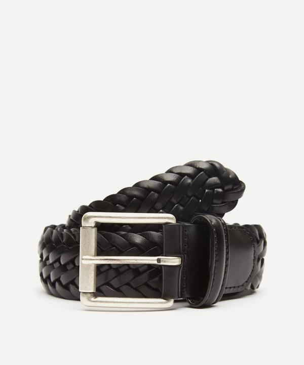 Anderson's - Leather Woven Belt