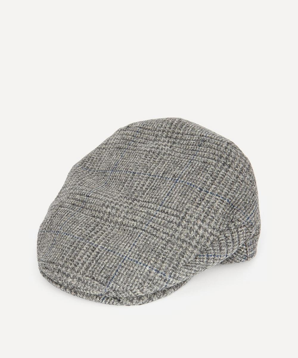 Christys' - Balmoral Tweed Flat Cap