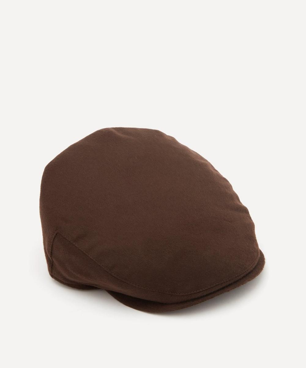 Christys' - Balmoral Cashmere Flat Cap