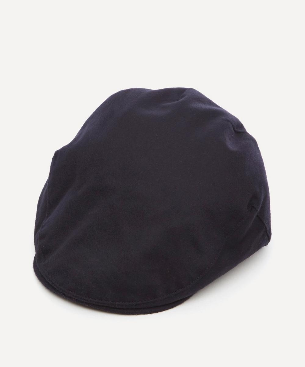 Christys' - Balmoral Cashmere Flat Cap image number 0