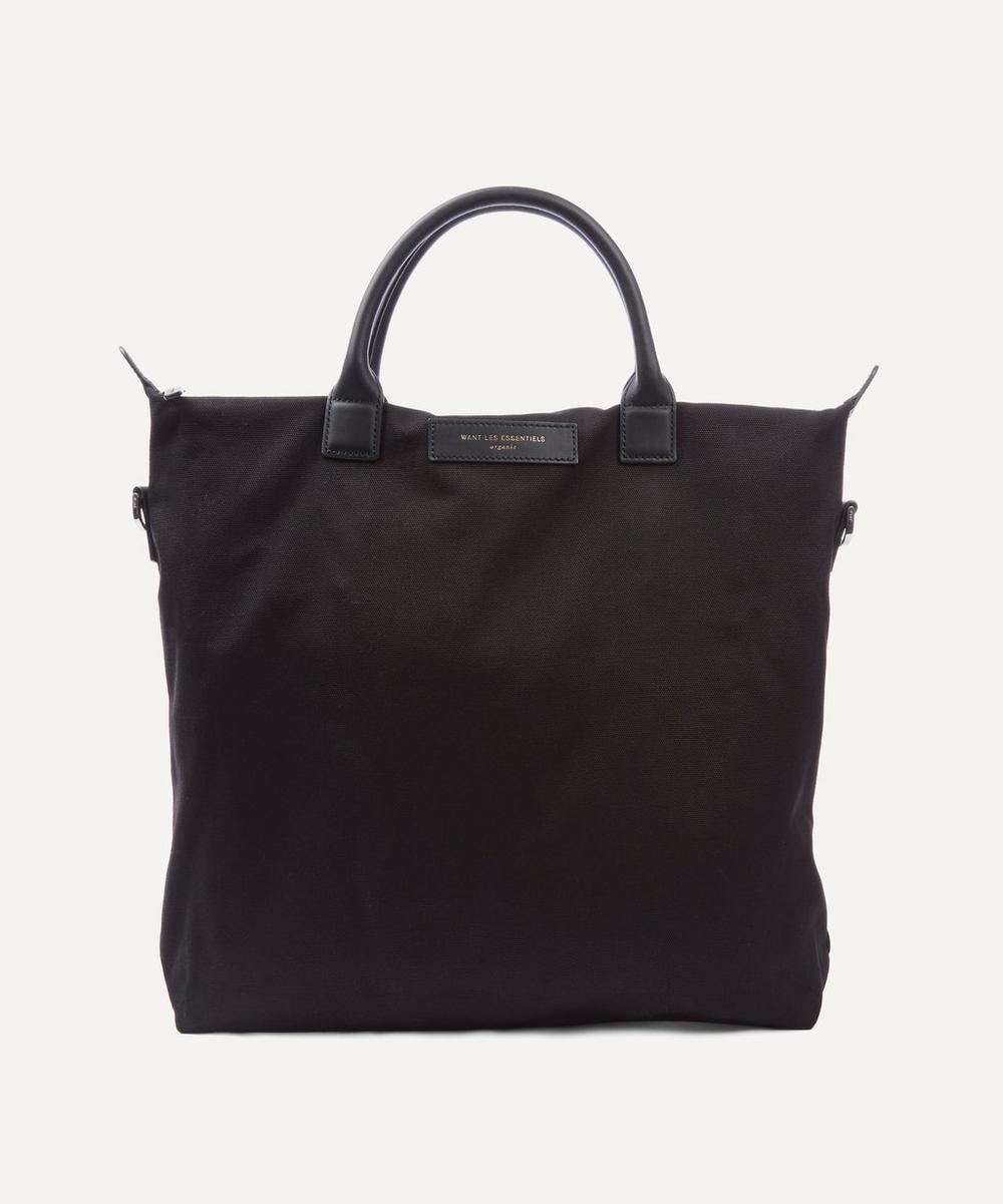 WANT Les Essentiels de la Vie - Want Les Essentiels De La Vie Navy O'hare Organic Tote Bag
