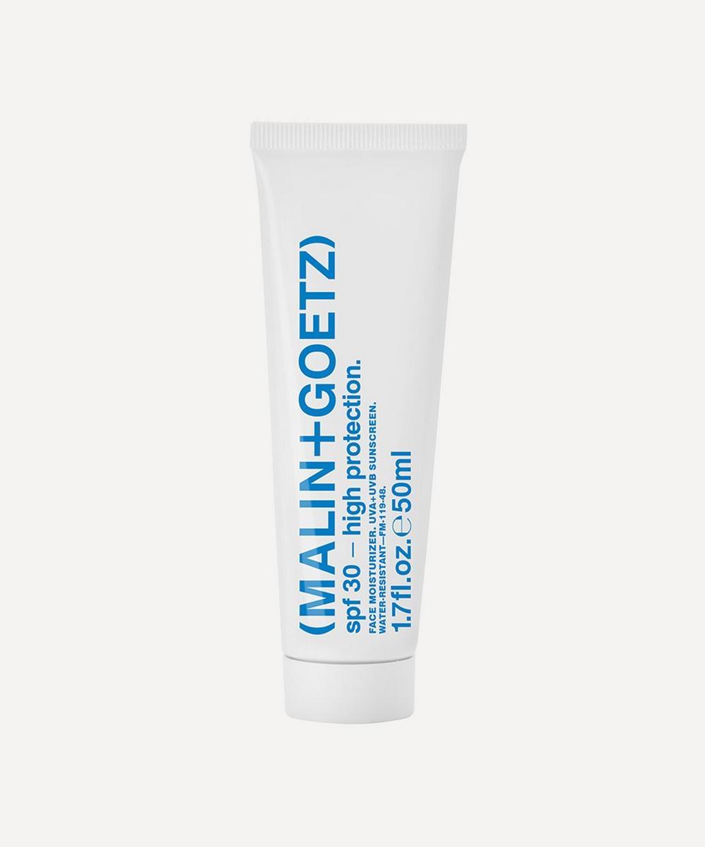 (MALIN+GOETZ) - SPF 30 High Protection Face Moisturiser 50ml