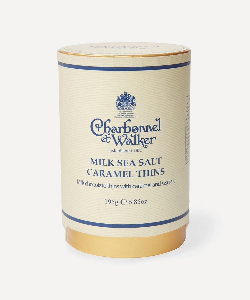 Charbonnel et Walker - Milk Sea Salt Caramel Thins 195g