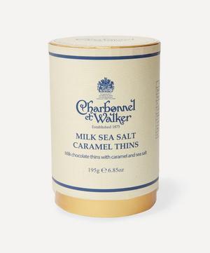 Milk Chocolate Sea Salt Caramel Thins 195g