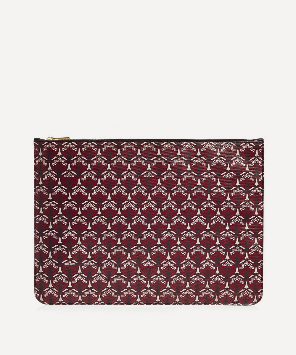 Liberty - Large Pouch in Iphis Canvas
