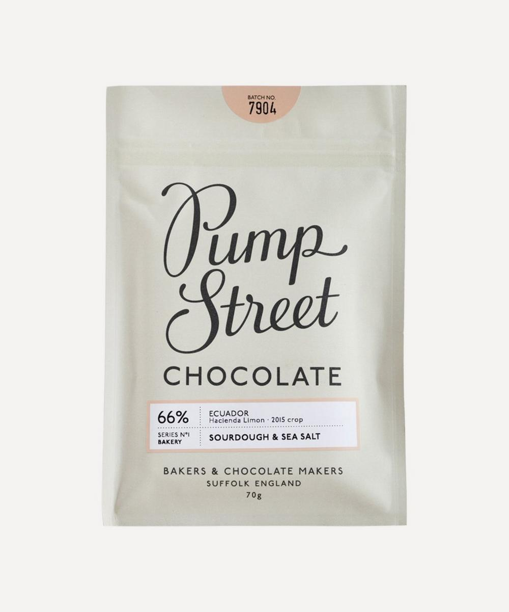 Pump Street Bakery - Ecuador 66% Sourdough and Sea Salt Chocolate 70g