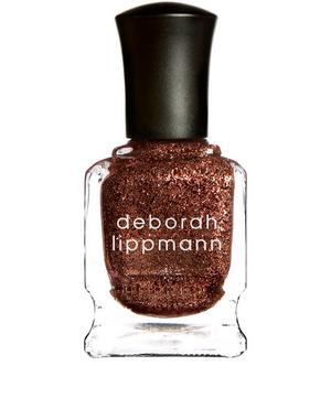 Nail Polish in Superstar Glitter Show Stopping Copper Flecked Fudge