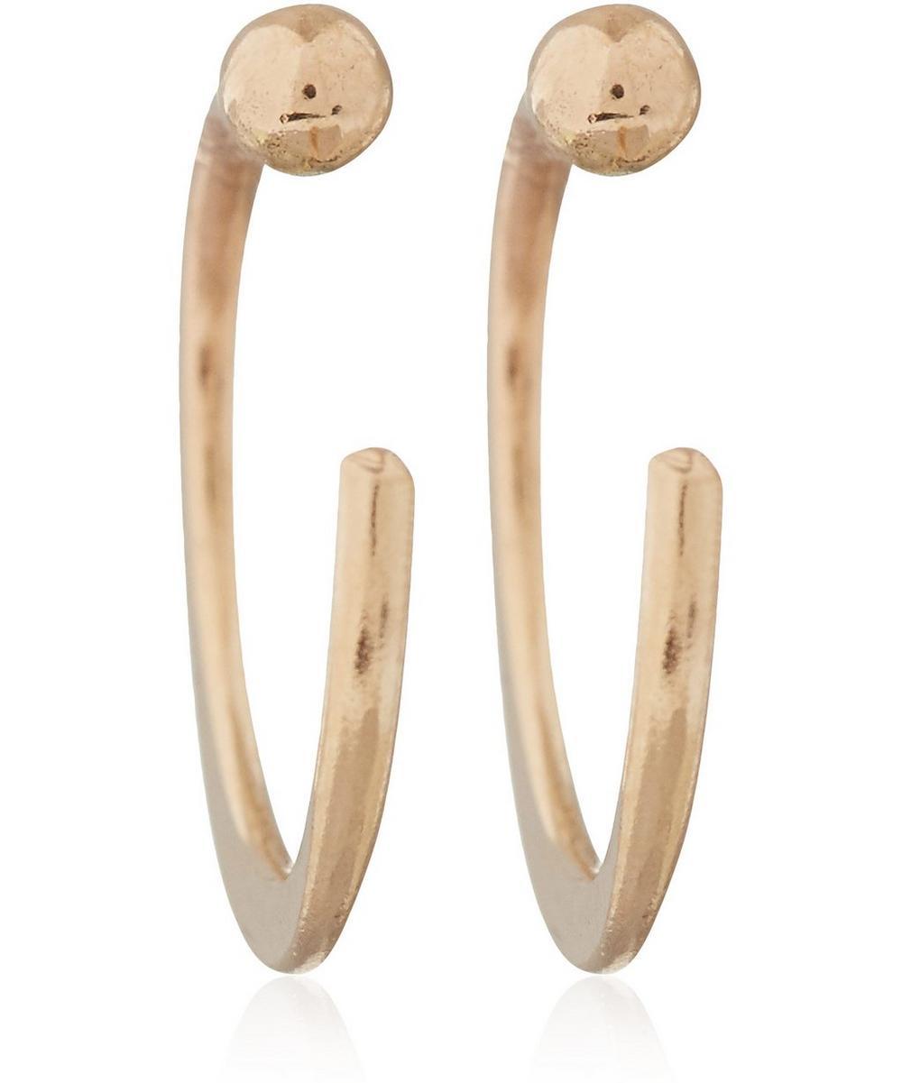 Melissa Joy Manning - Gold Small Hug Hoop Earrings