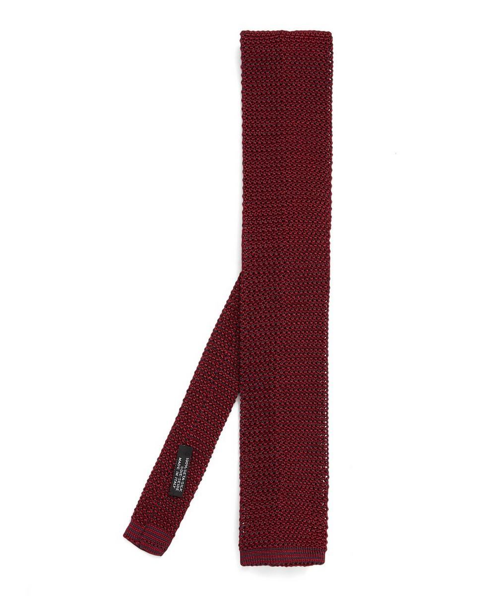 Nick Bronson - Phil Birdseye Knitted Silk Tie
