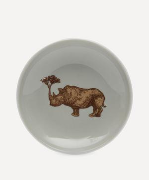Puddin' Head Rhino Small Plate