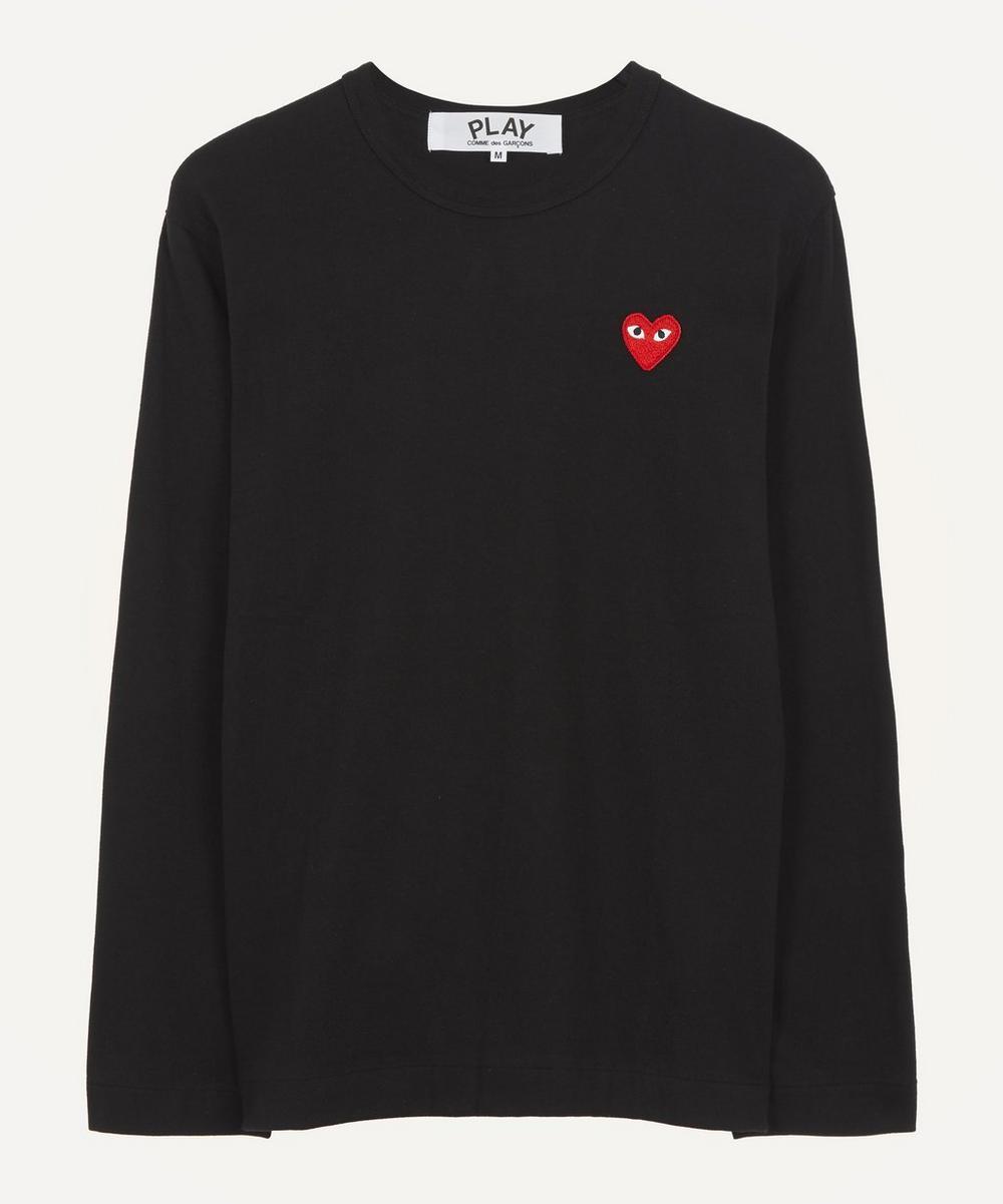 Comme des Garçons Play - Classic Badge Cotton T-Shirt