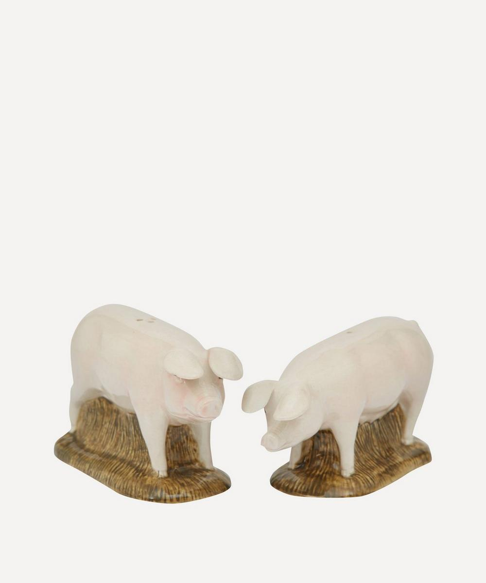 Quail - Lop Pig Stoneware Salt and Pepper Shakers