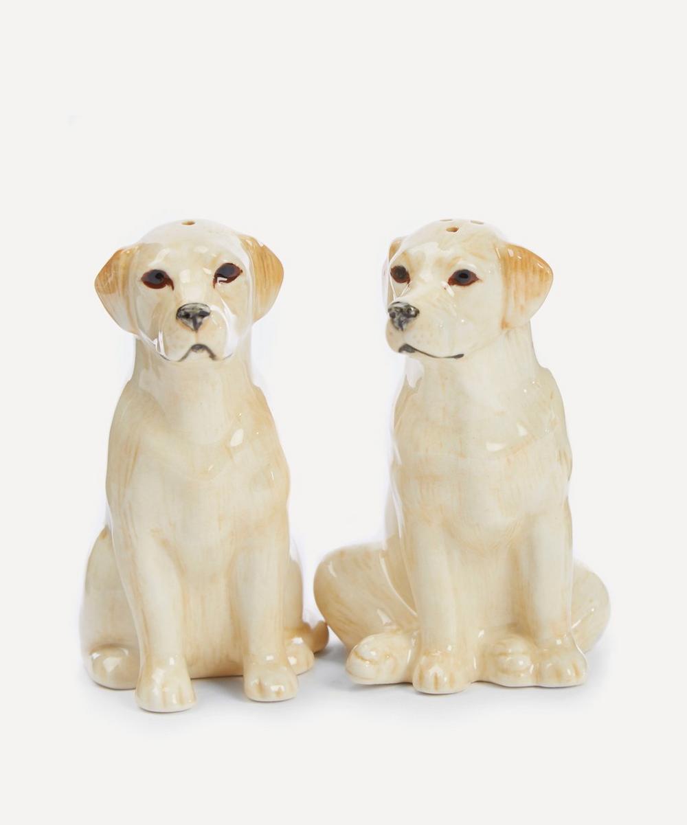Quail - Golden Labrador Salt and Pepper Shakers