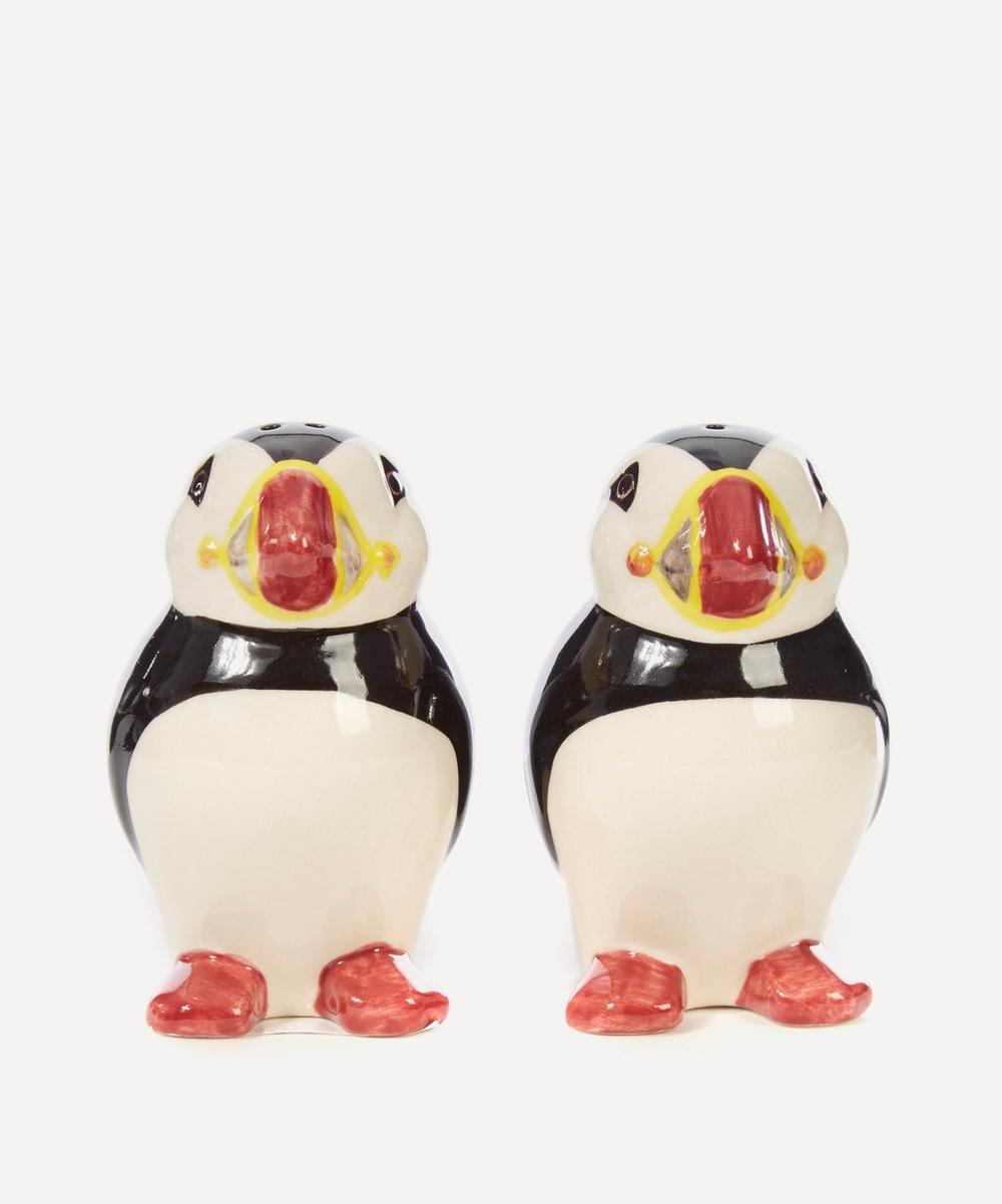 Quail - Puffin Salt and Pepper Shakers