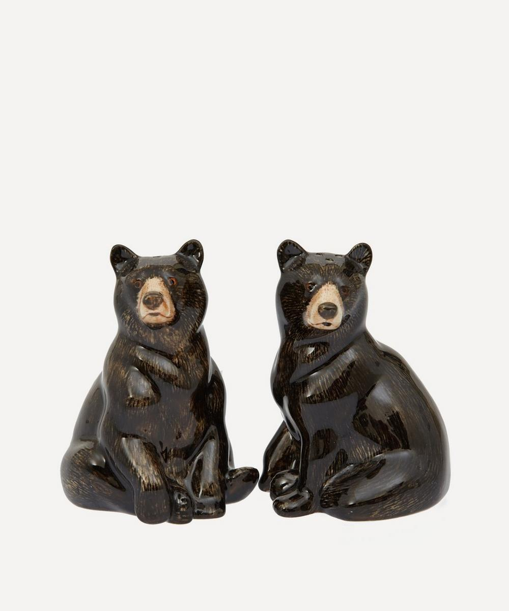 Quail - Bear Salt and Pepper Shakers