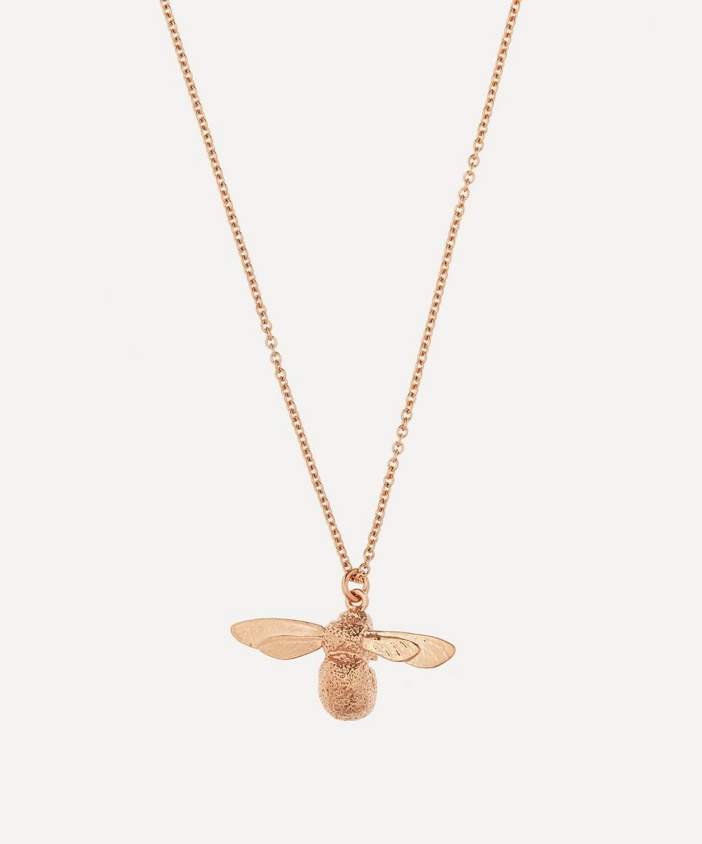 Alex Monroe - Rose Gold-Plated Baby Bee Necklace