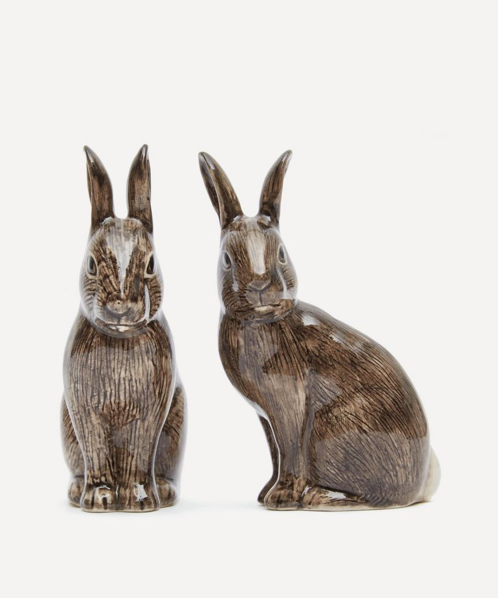 Quail - Wild Rabbit Salt and Pepper Shakers