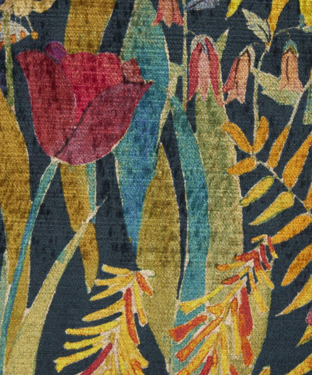 Liberty Fabrics Interiors - Faria Flowers Velvet in Marigold