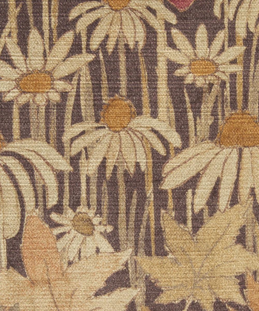 Liberty Fabrics Interiors - Faria Flowers Velvet in Woodpecker
