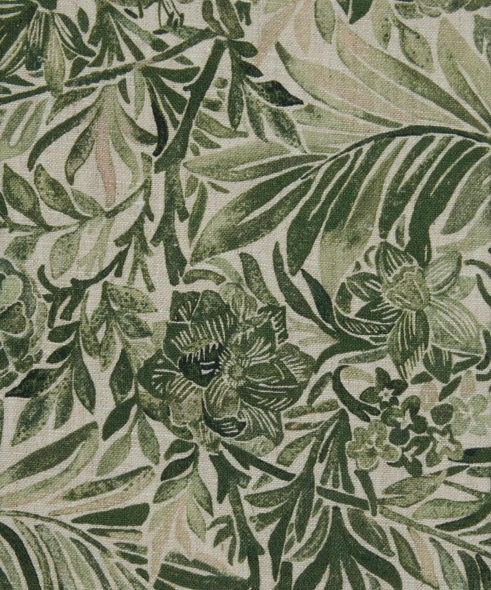 Liberty Fabrics Interiors - Wallace Secret Garden Linen in Green Gauze