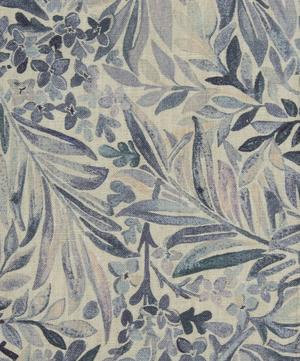 Wallace Secret Garden Linen in Grey Mist