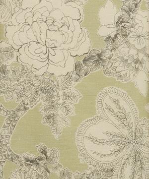 Zennor Forest Silk Linen in Tree Tops